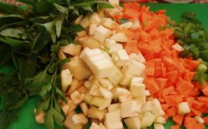 špagety bolognese s tofu