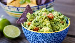avokádo a guacamole