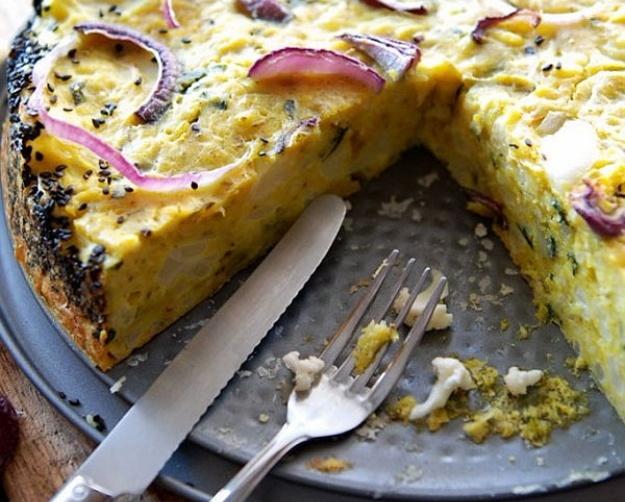 Výsledok vyhľadávania obrázkov pre dopyt Karfiolový koláč