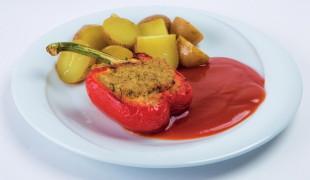 pečená-plnená-paprika