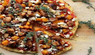 ryžová pizza