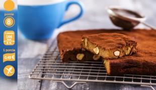 Čokoládový koláč alla brownie