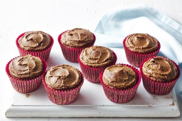 cokoládové muffiny
