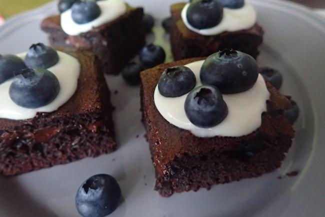 čokoládový koláč brownies